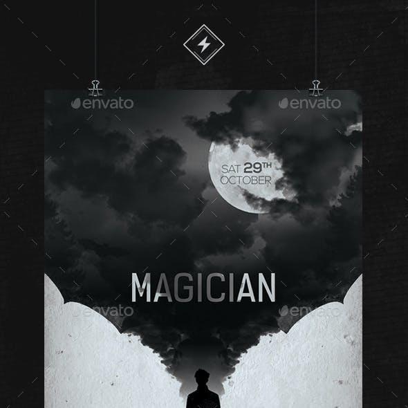 Halloween Magic Night Flyer