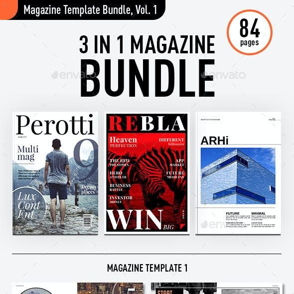 Magazine Template Bundle, Vol. 1
