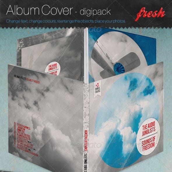 Cd - Album Cover - Digi pack Version