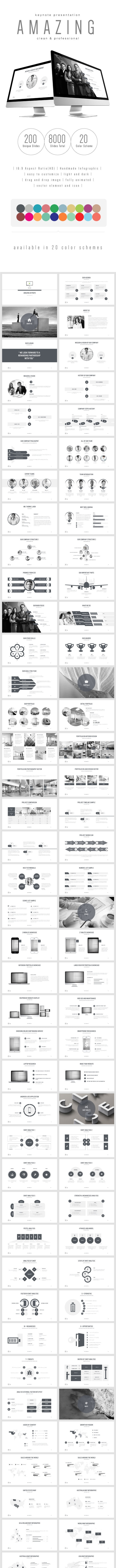 Multipurpose Keynote Presentation (Vol. 15) - Keynote Templates Presentation Templates