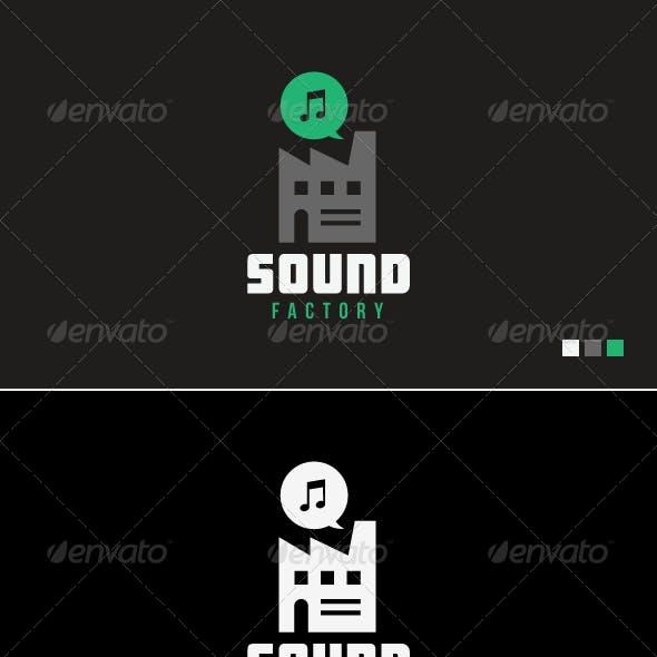 Sound Factory - Logo Template