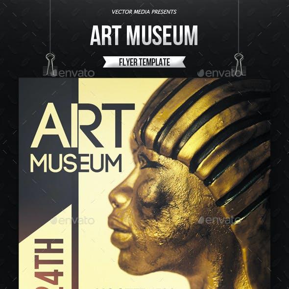 Art Museum - Flyer