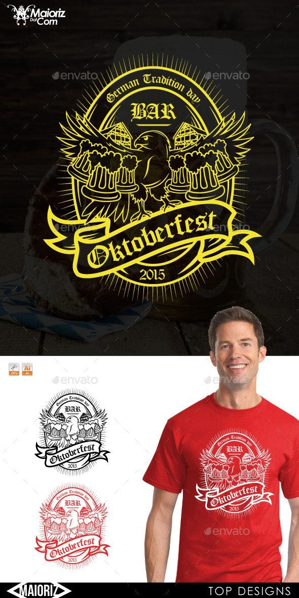 Hawk Oktoberfest Tshirt - Events T-Shirts
