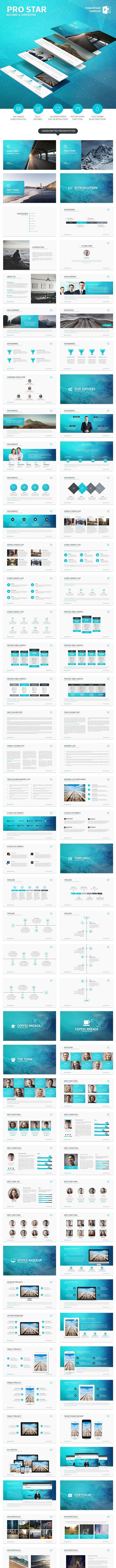 ProStar - PowerPoint Template - Business PowerPoint Templates