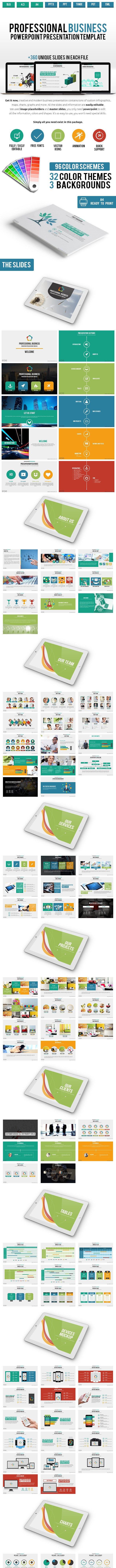 Professional Business PowerPoint Presentation - Business PowerPoint Templates