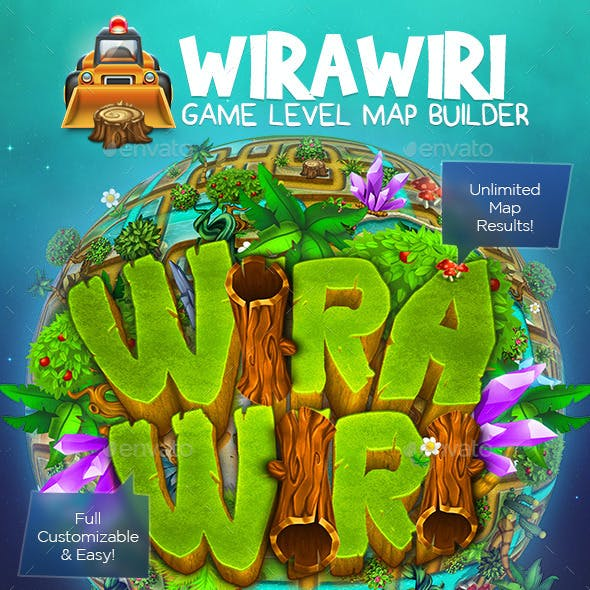 Wirawiri: Game Level Map Builder