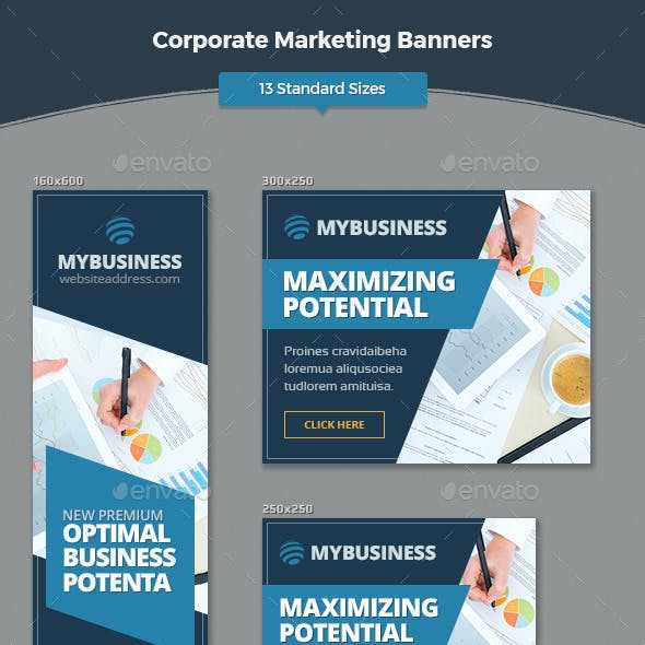 Corporate Marketing Banners