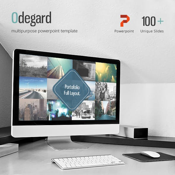 Odegard - Simple Powerpoint Presentation Template