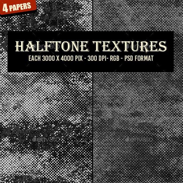 Monochrome Halftone Textures 59