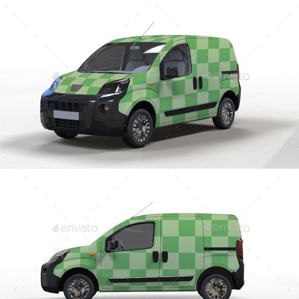 Mini Van Mock up