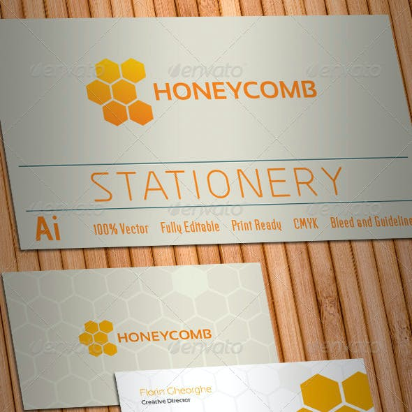 Honeycomb Stationery