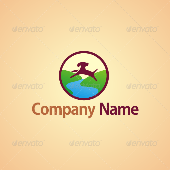 Dog Kennel Logo - Animals Logo Templates
