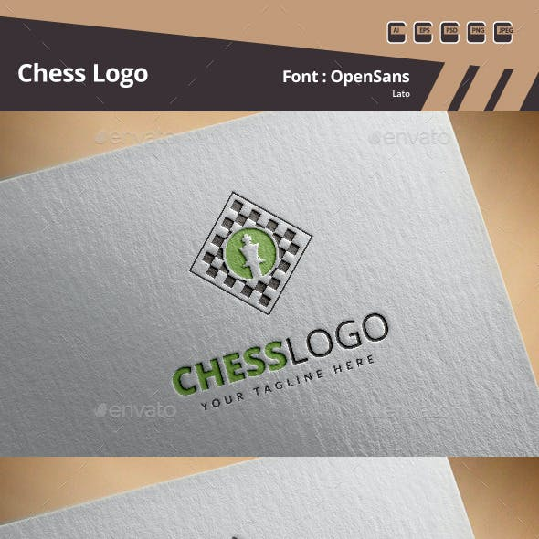 Chess Logo Template
