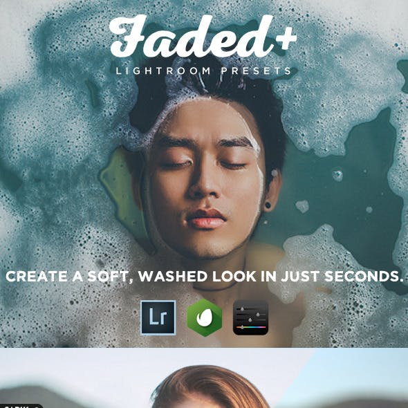 Faded+ 20 Lightroom Presets