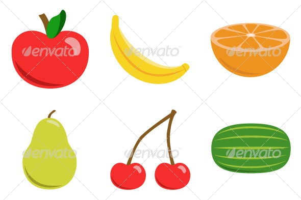 Fruit Collection - Food Objects