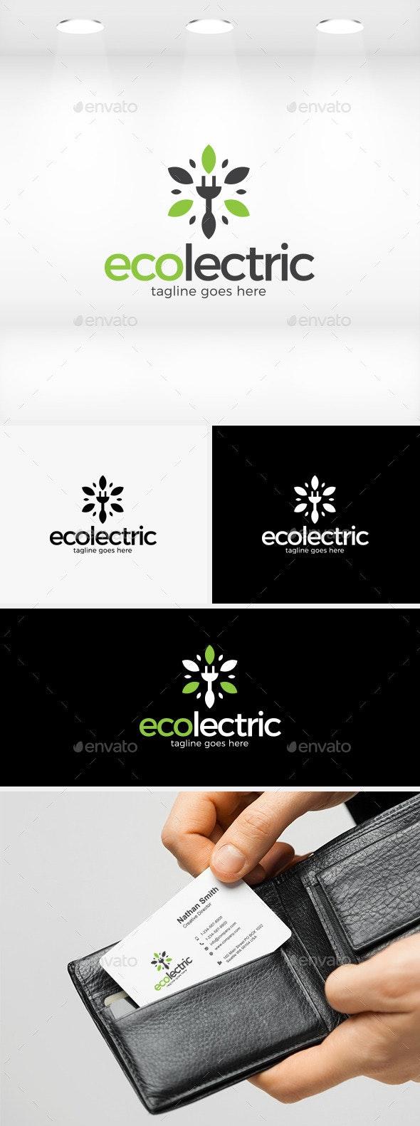 Ecolectric Logo - Symbols Logo Templates