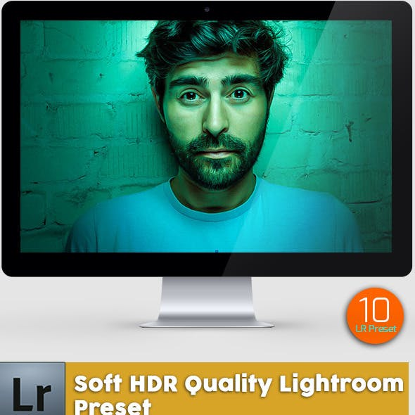10 Soft HDR Quality Lightroom Preset