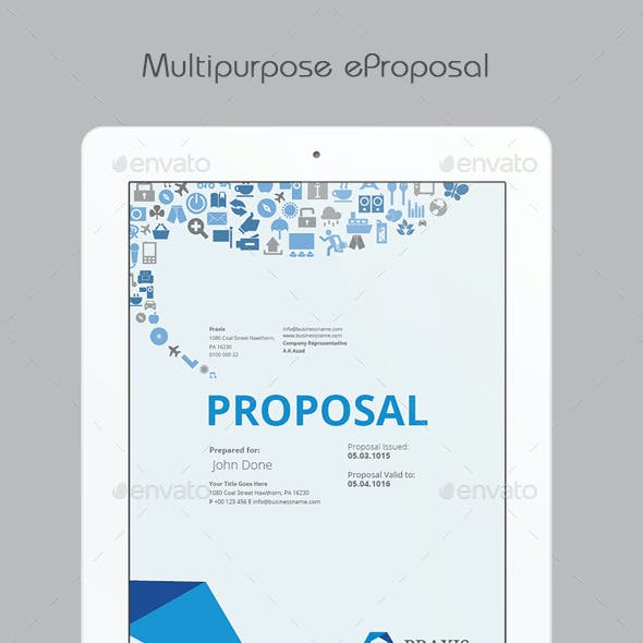 Multipurpose eProposal