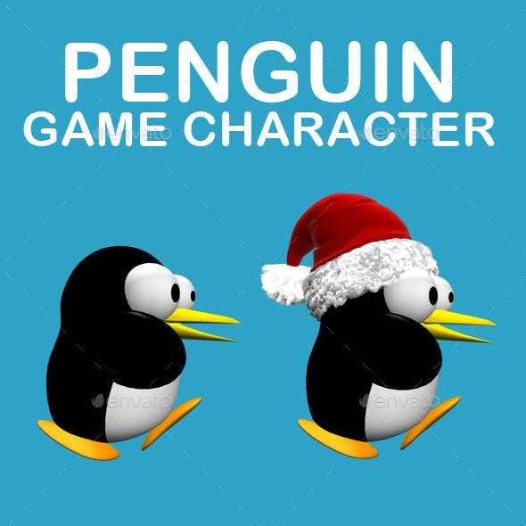 Penguin Character Game Sprite