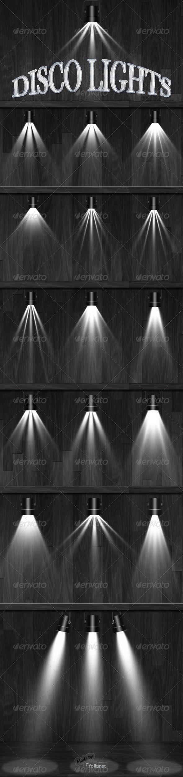 Disco Lights - Miscellaneous Graphics
