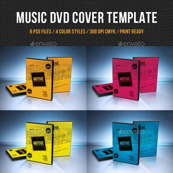 Music DVD Cover Template V13