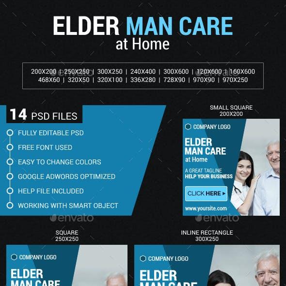 Elder Man Care at Home