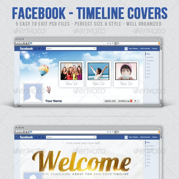 Facebook - Timeline Covers