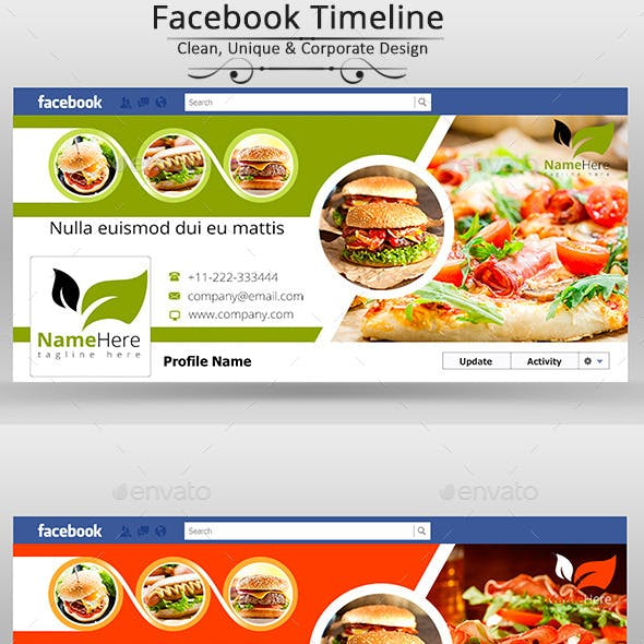 Food & Restaurants Facebook Covers