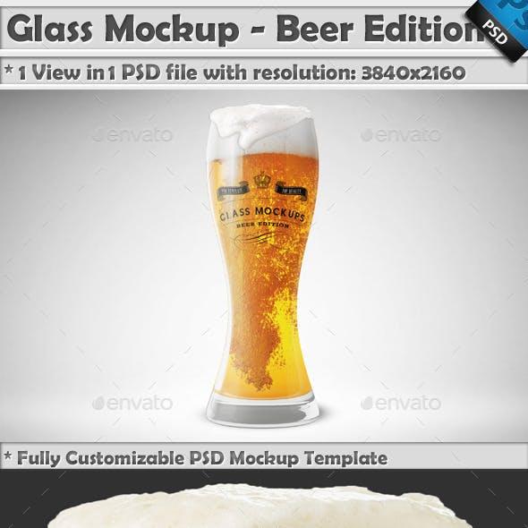 Glass Mockup - Beer Glass Mockup Edition Vol 1