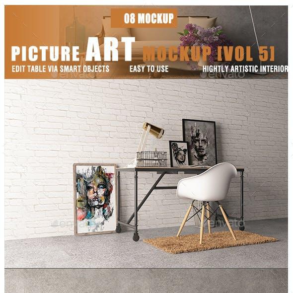 Picture Art Mockup [Vol 5]