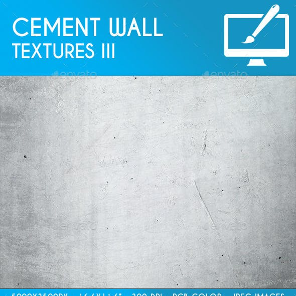 Cement Wall Backgrounds/Textures III