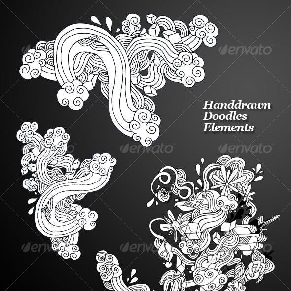 Handdrawn Doodles Elements