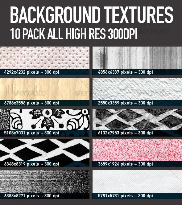 BACKGROUND TEXTURES 10-PACK - Industrial / Grunge Textures