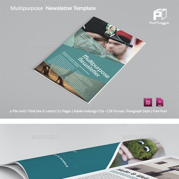 Multipurpose Newsletter Vol.2