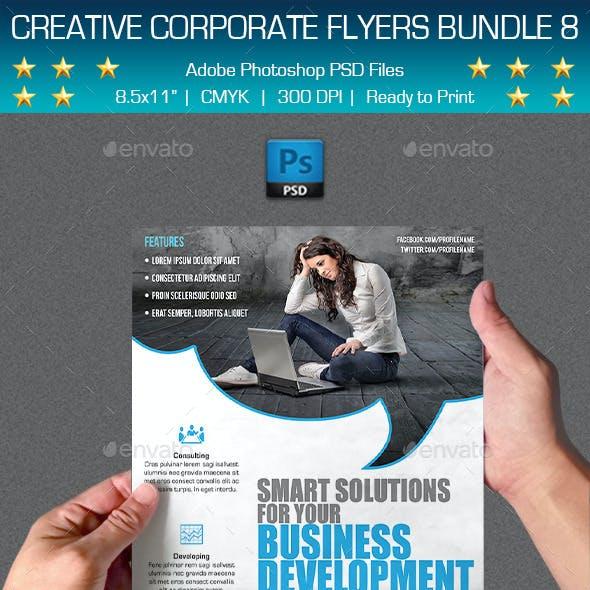 Creative Multipurpose Flyers Bundle 8