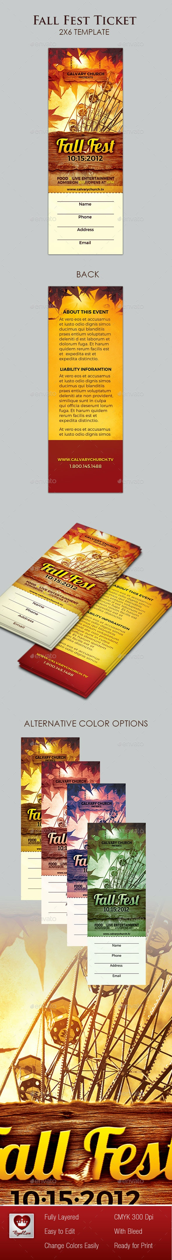 Fall Fest Ticket - Miscellaneous Events