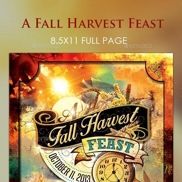 Fall Harvest Feast