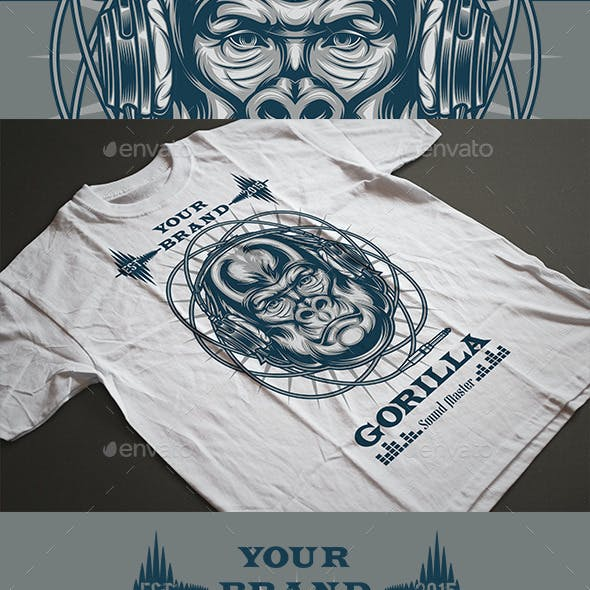 Gorilla Sound Master T-shirt