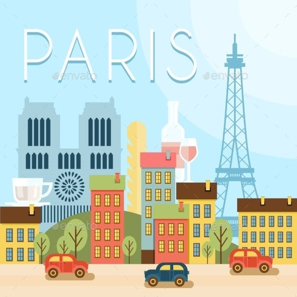 Welcome To France. Attractions Of Paris