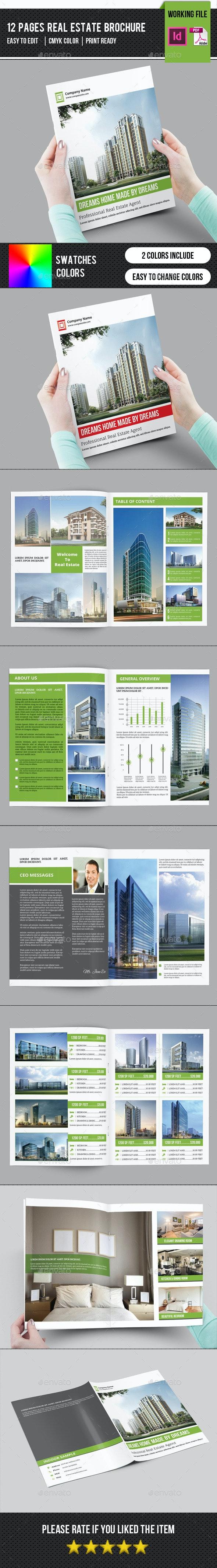 Real Estate Brochure Template-V304 - Catalogs Brochures