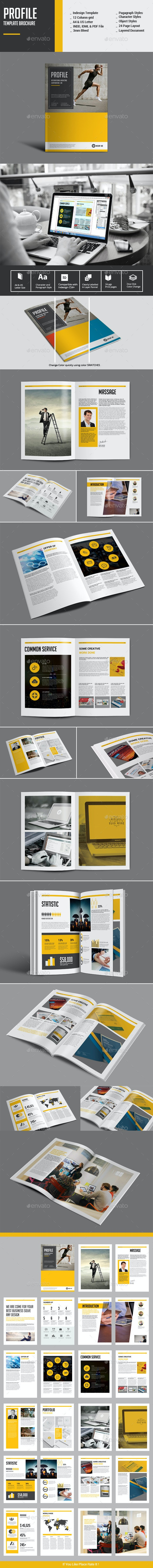 Profile Template Brochure - Corporate Brochures