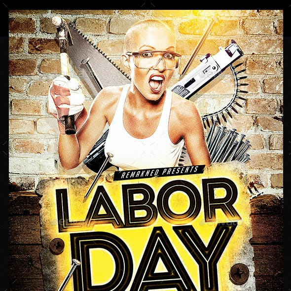 Labor Day Party | Flyer Template PSD