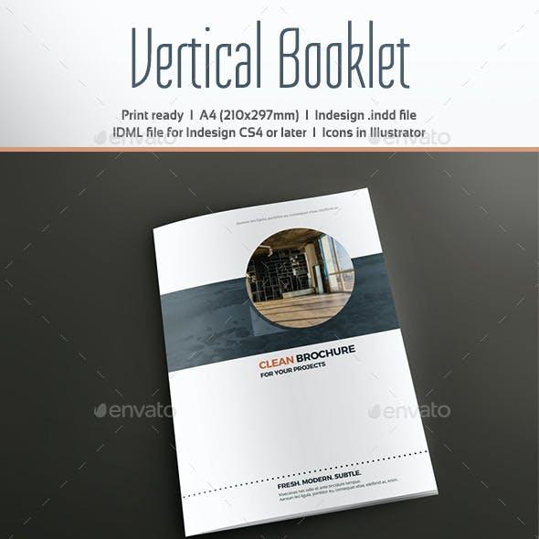 Vertical Booklet