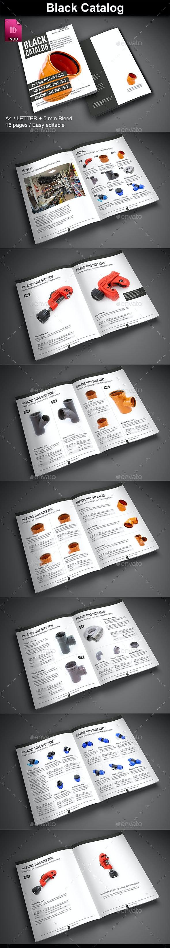Black Catalog - Catalogs Brochures