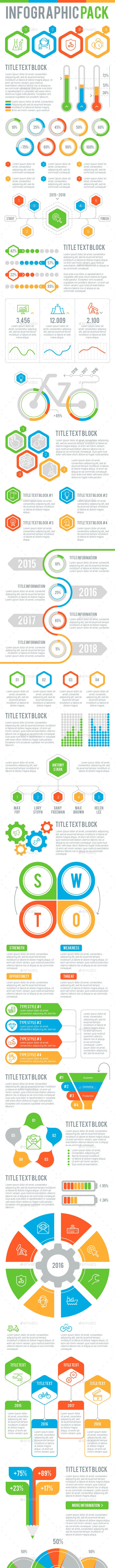 Infographic Pack 1 - Infographics