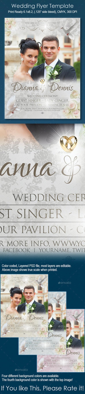 Wedding Flyer Template - Weddings Cards & Invites