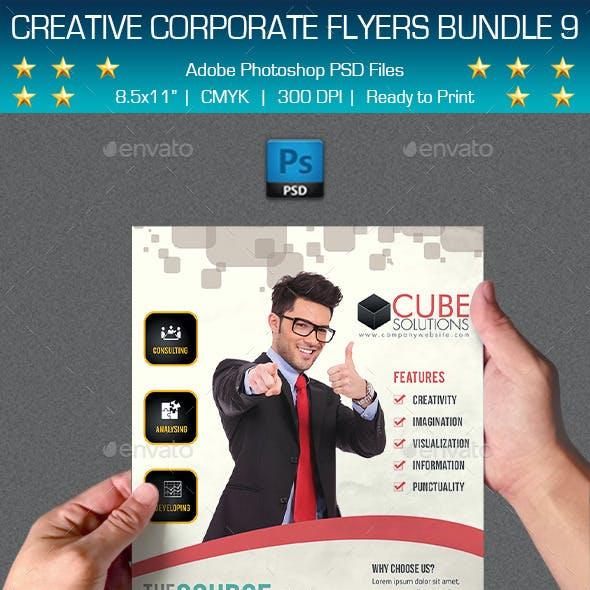 Creative Multipurpose Flyers Bundle 9