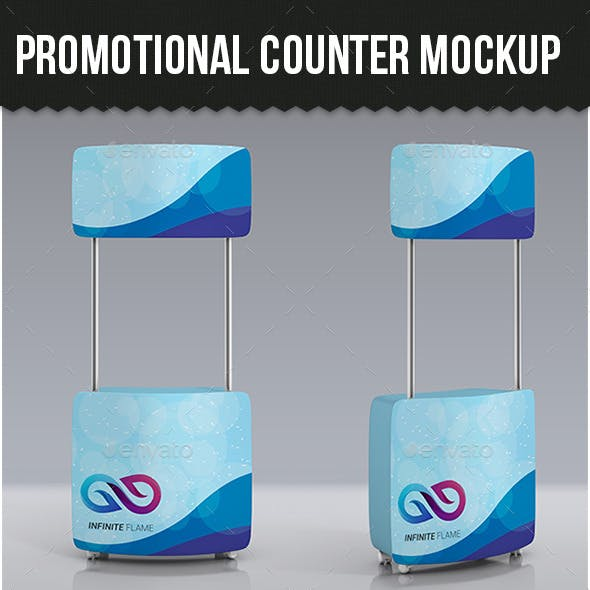 Promotional Counter Mock-up