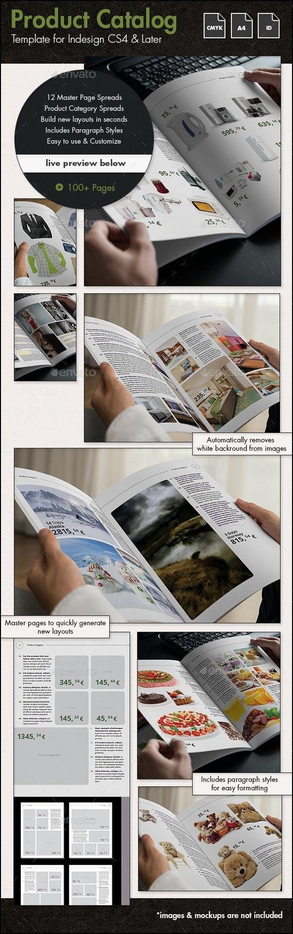 Product Catalog Template - A4 Portrait - Catalogs Brochures