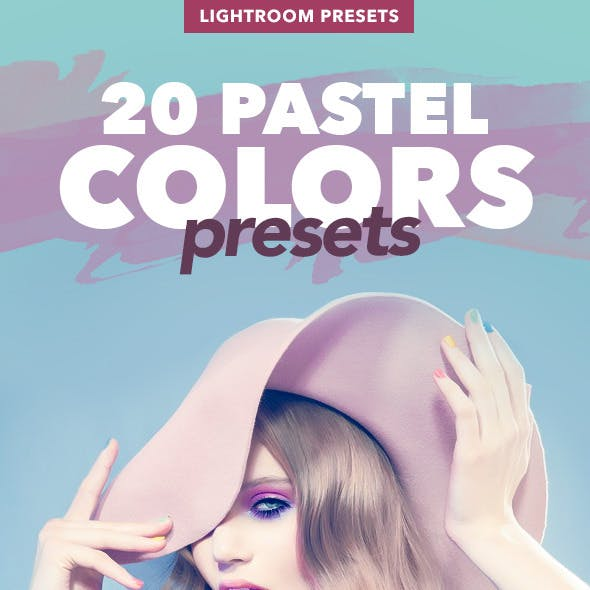 20 Pastel Colors - Professional Adobe Lightroom Presets